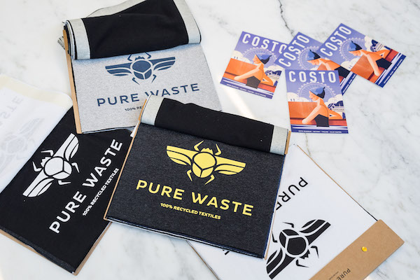Pure Waste textile examples